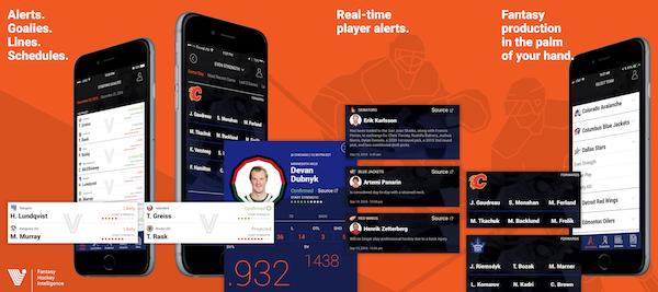Left Wing Lock Fantasy Hockey iPhone App