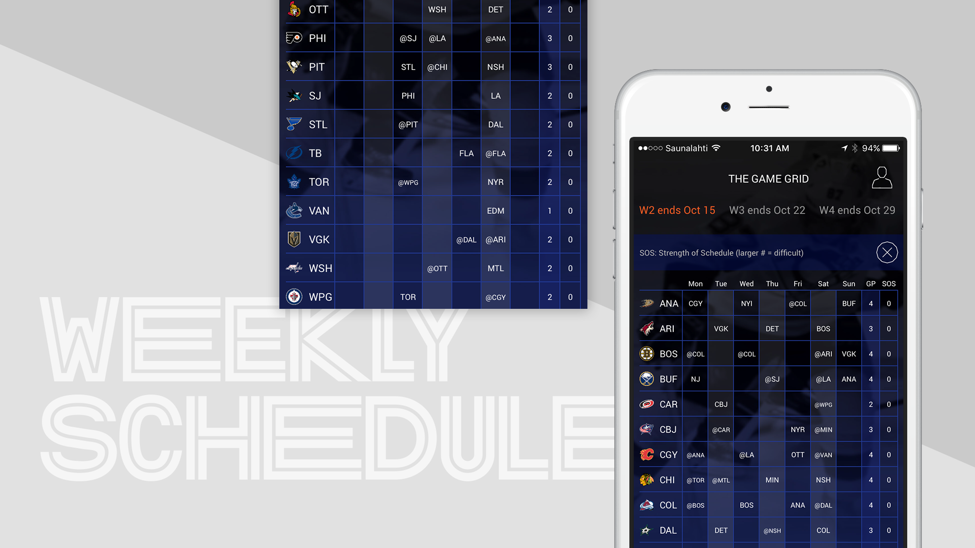 Fantasy Hockey iPhone App